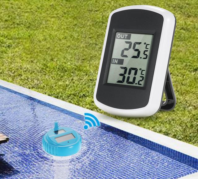 термометр для бассейна: плавающий и электронный